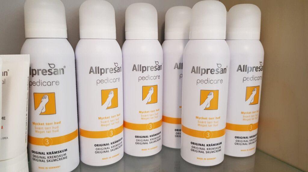 Salg og produkter. Hos Klinik for Fodterapi v/Peter Jesper Demant sælger vi de bedste produkter på markedet